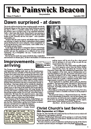 Painswick Beacon September 2010 Edition