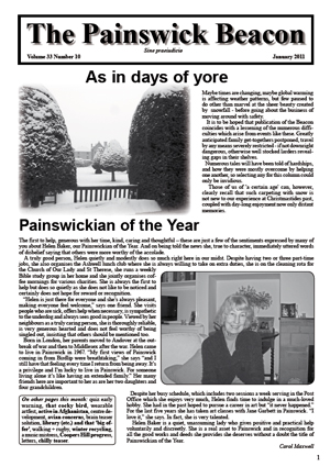 Painswick Beacon January 2011 Edition