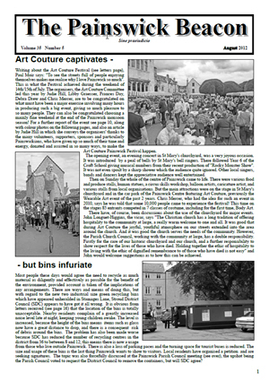 Painswick Beacon August 2012 Edition