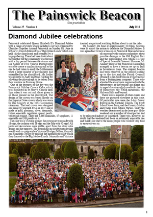 Painswick Beacon July 2012 Edition