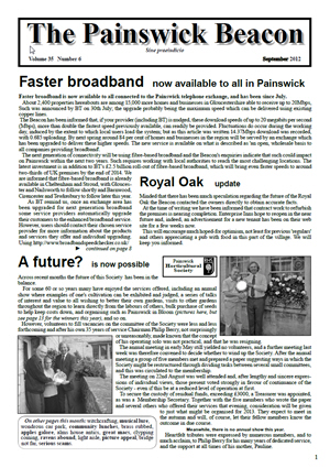 Painswick Beacon September 2012 Edition