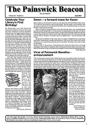 Painswick Beacon June 2013 Edition