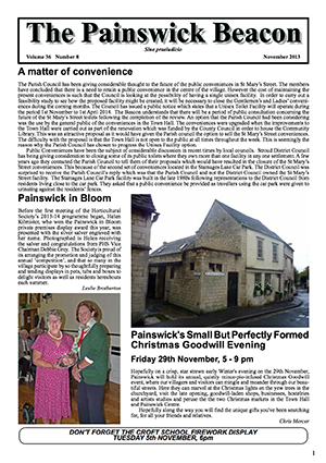 Painswick Beacon November 2013 Edition