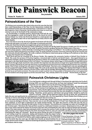 Painswick Beacon January 2014 Edition