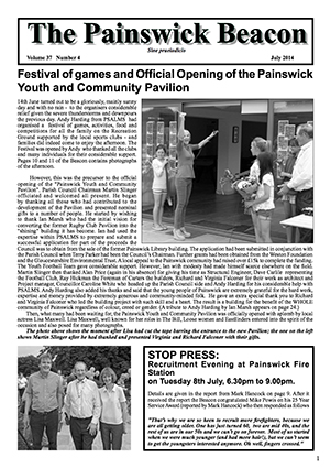 Painswick Beacon July 2014 Edition