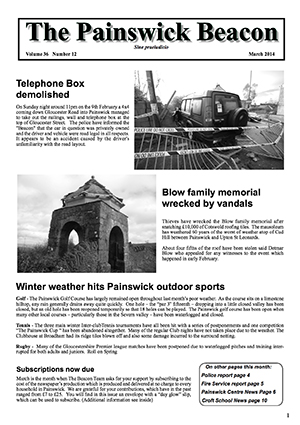 Painswick Beacon March 2014 Edition