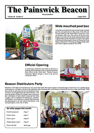 Painswick Beacon August 2015 Edition