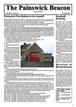 Painswick Beacon November 2015 Edition