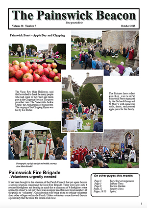 Painswick Beacon October 2015 Edition