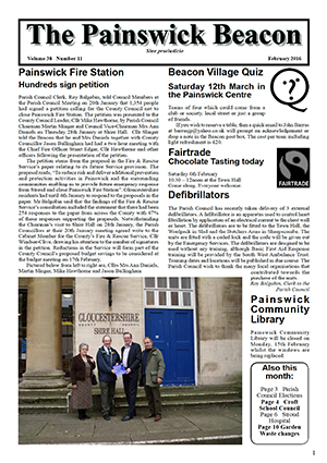Painswick Beacon February 2016 Edition