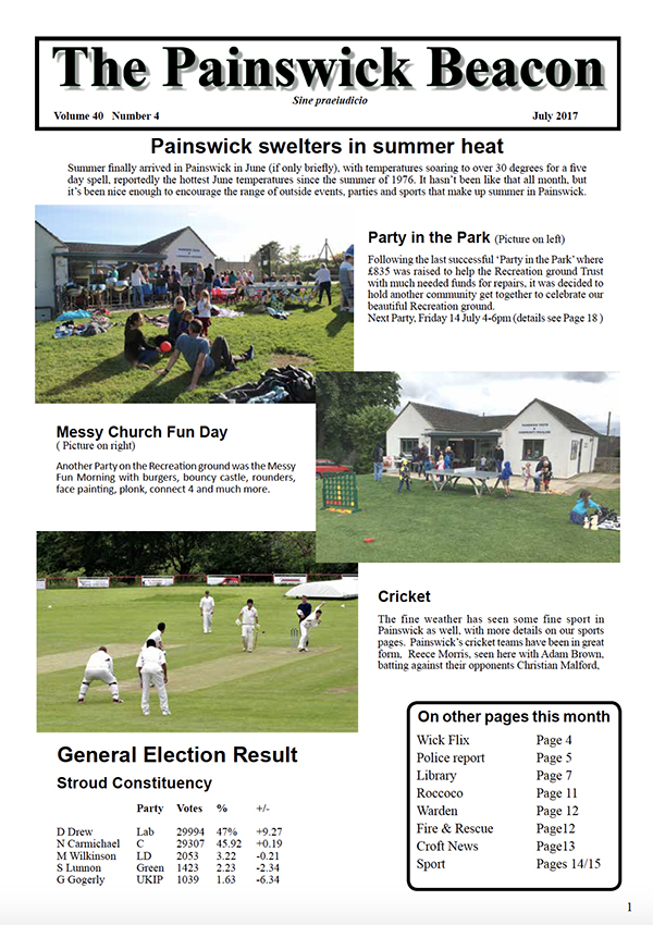 Painswick Beacon July 2017 Edition