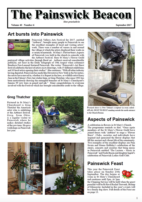 Painswick Beacon September 2017 Edition