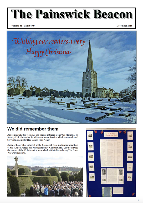 Painswick Beacon December 2018 Edition