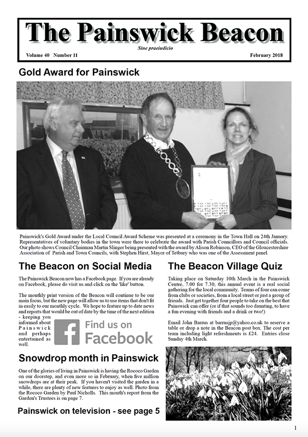 Painswick Beacon February 2018 Edition