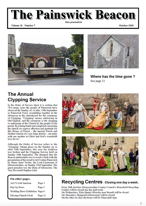 Painswick Beacon October 2018 Edition